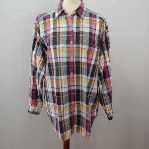 Lane Bryant Tops - PLUS SIZE LANE BRYANT Venezia Plaid Shirt Size 2x